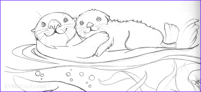 Sea Otter Coloring Page Beautiful Photos Sea Otter Awareness Week 2012