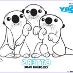 Sea Otter Coloring Page Cool Photos Finding Dory Fun Coloring Pages And Activity Sheets Debt