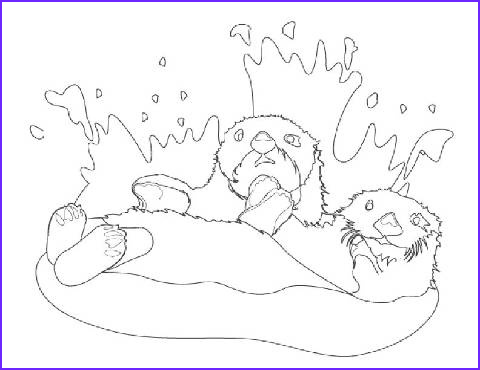 Sea Otter Coloring Page Luxury Collection Otter Free Coloring Pages