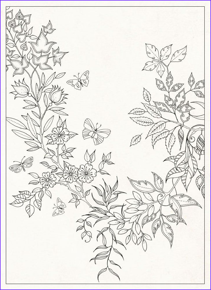 coloring pages by johanna basford