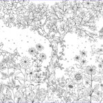 Secret Garden Coloring New Collection Fanatic For Fiction Fanfiction And Colouring Books