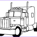 Semi Truck Coloring Pages Elegant Collection Semi Truck Coloring Pages