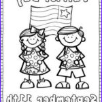 September 11 Coloring Pages New Photos Patriot Day Coloring And Writing Page Freebie
