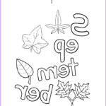 September Coloring Pages Elegant Collection I Love September Coloring Page Twisty Noodle