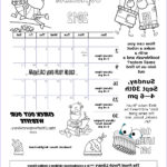 September Coloring Pages Inspirational Image September Calendar & Coloring Page – The Front Porch Library