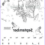 September Coloring Pages Inspirational Image September Colouring Calendar 2017 Printable Colouring Page