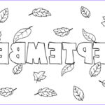 September Coloring Pages Inspirational Photos September Coloring Pages To Print Preschool Kindergarten
