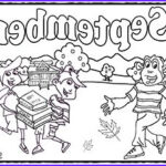 September Coloring Pages New Collection September Coloring Sheets And Activities
