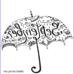 September Coloring Pages Unique Images September Coloring Pages Umbrella Clipart Free Printable