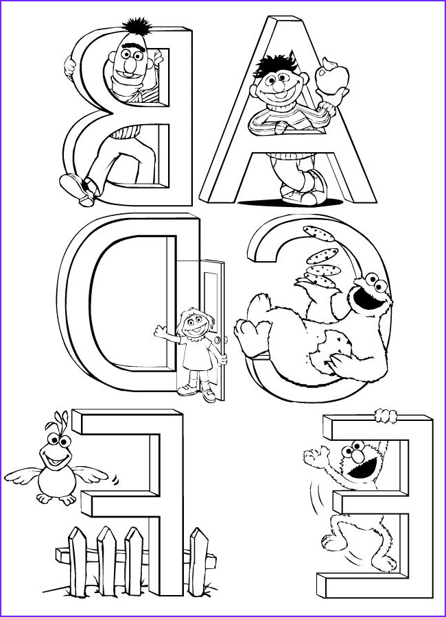Sesame Street Printable Coloring Pages Luxury Stock Sesame Street Printable Coloring Pages Images Pictures