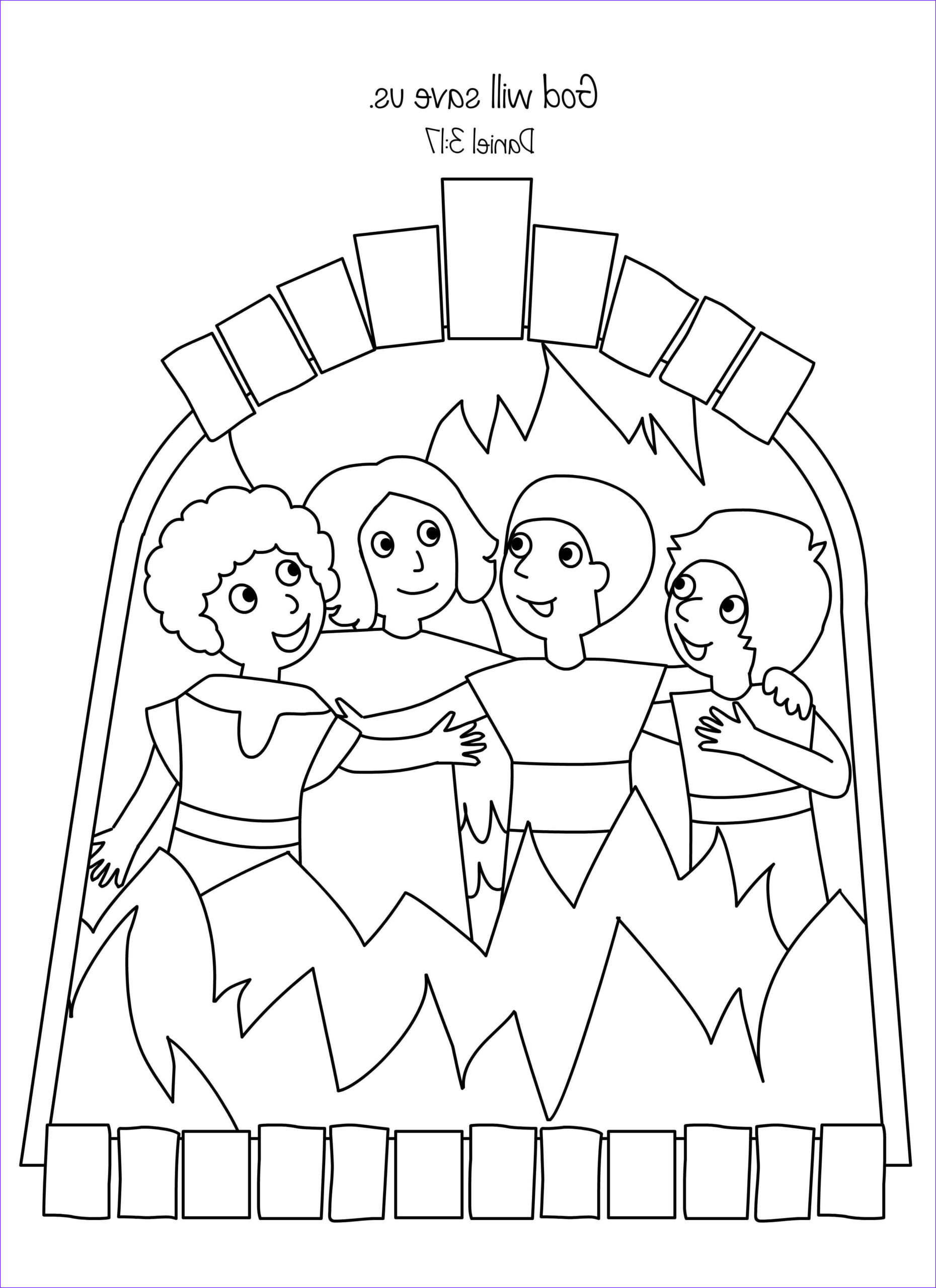 Shadrach Meshach and Abednego Coloring Page Beautiful Photos Amazing Fiery Furnace Coloring Page Shadrach Meshach and