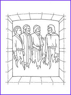 Shadrach Meshach and Abednego Coloring Page Beautiful Photos Shadrach Meshach and Abednego Coloring Pages