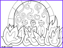 Shadrach Meshach and Abednego Coloring Page Elegant Image Shadrach Meshach Abednego Printable Coloring Pages