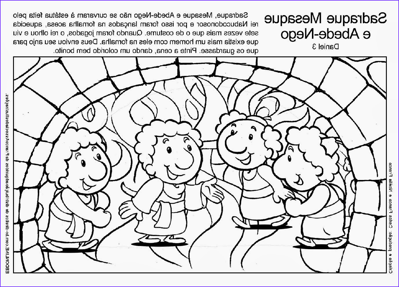 Shadrach Meshach and Abednego Coloring Page Luxury Collection Daniel Shadrach Meshach and Abednego Coloring Page
