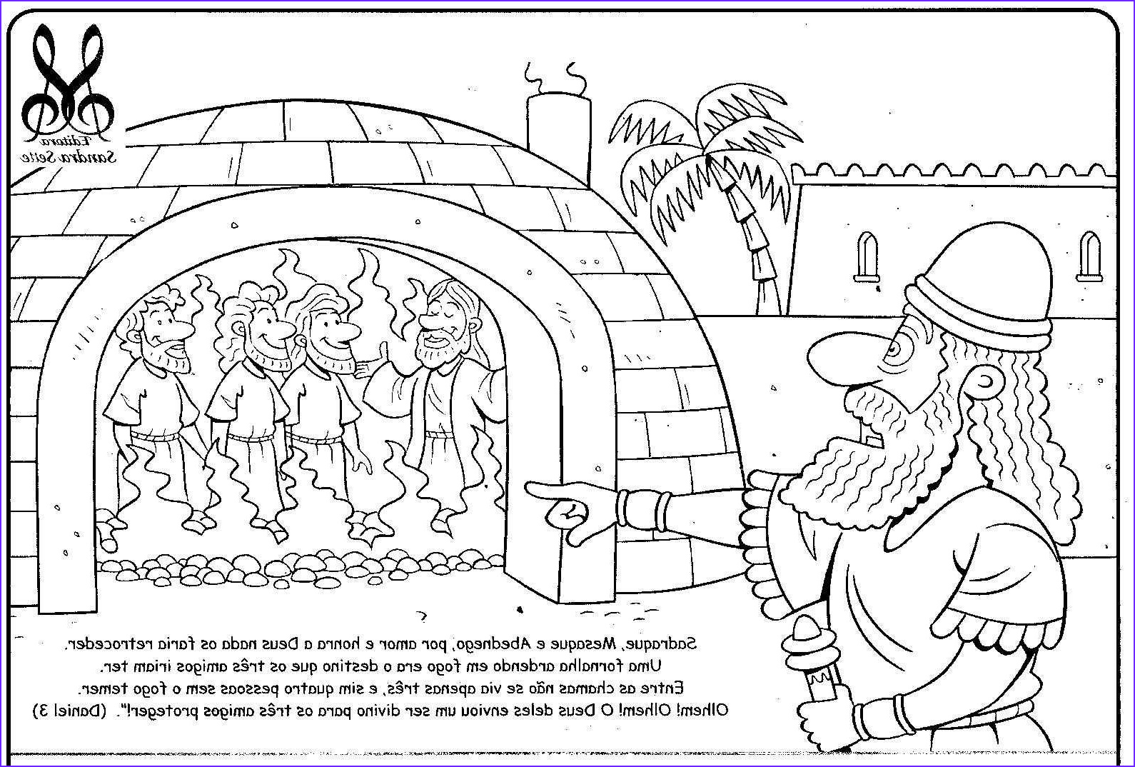 Shadrach Meshach and Abednego Coloring Page New Photos Best 3 Hebrew Boys In the Fiery Furnace Printable Ideas