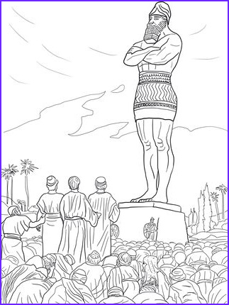 Shadrach Meshach and Abednego Coloring Page Unique Photos Shadrach Meshach and Abednego Refused to Worship the