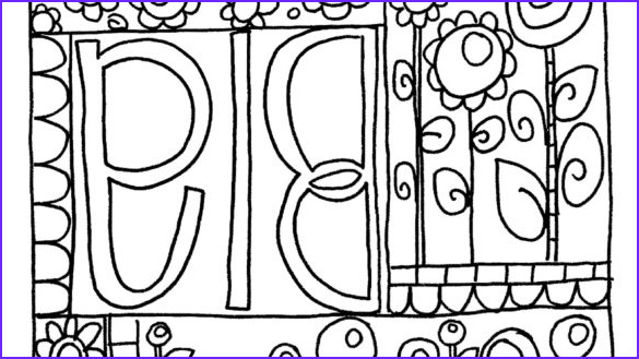 sharpie coloring pages