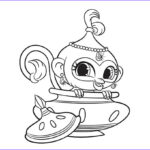 Shimmer and Shine Coloring Page Luxury Gallery Shimmer and Shine Coloring Pages 2017