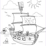 Ships Coloring Pages Beautiful Collection Free Printable Pirate Coloring Pages For Kids