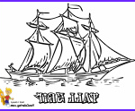 Ships Coloring Pages Beautiful Image Sky High Tall Ships Coloring Pages Ship Free