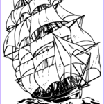 Ships Coloring Pages Beautiful Photos Clipper Ship Coloring Page Print Color Fun