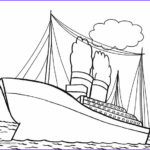 Ships Coloring Pages Inspirational Photos Printable Titanic Coloring Pages For Kids