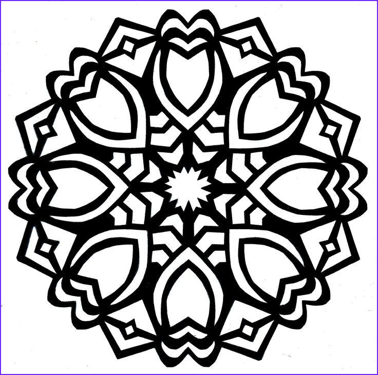 Simple Adult Coloring Pages Elegant Photography Simple Mandala Coloring Pages Google Search