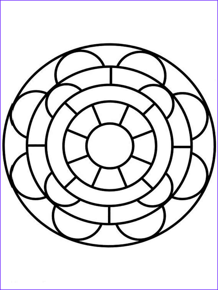 Simple Adult Coloring Pages Luxury Photography Simple Mandala Coloring Pages for Adults Free Printable