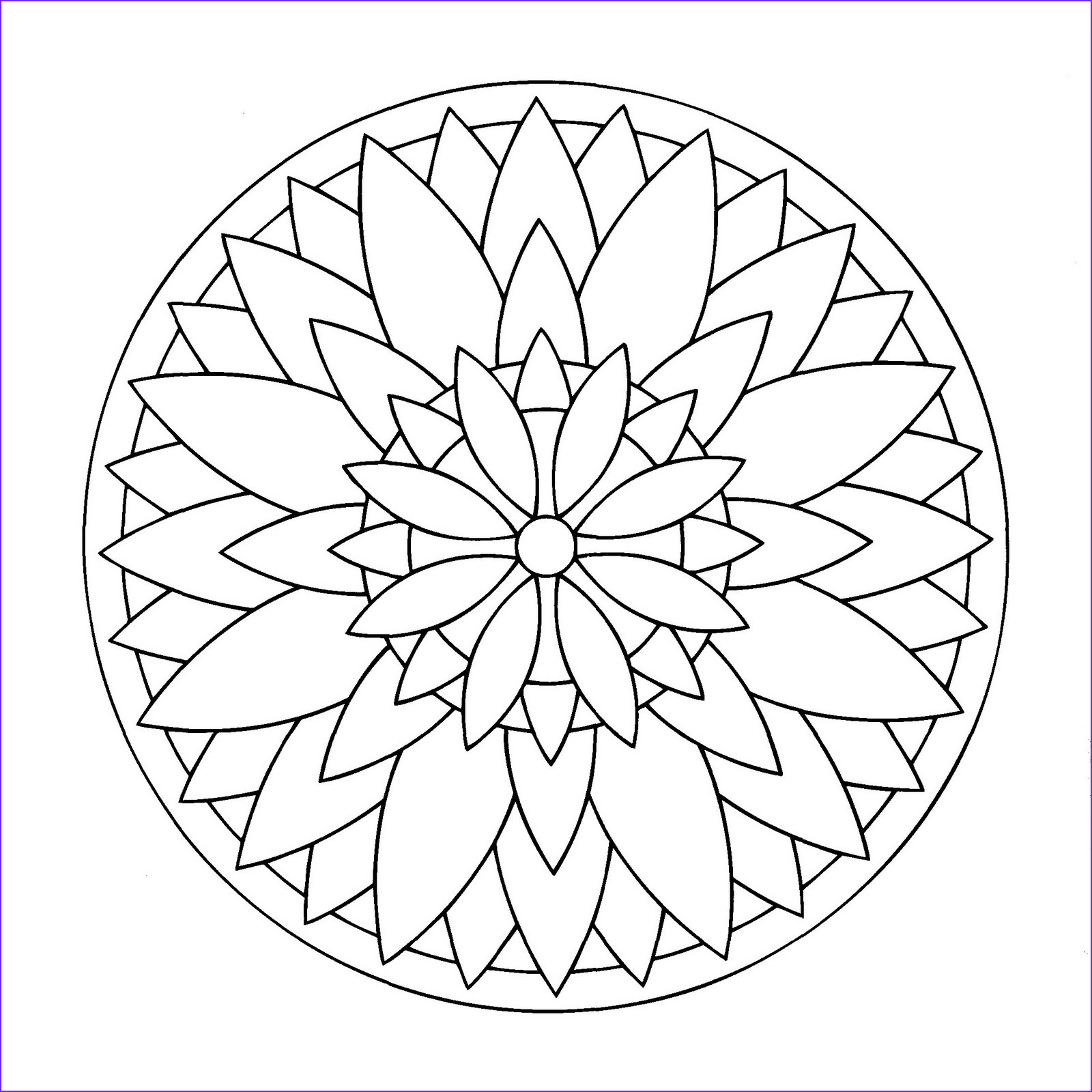 Simple Mandala Coloring Pages Awesome Stock Simple Mandala 3 M&alas Coloring Pages for Kids to Print