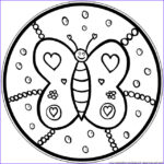Simple Mandala Coloring Pages Beautiful Images Mandala Coloring Pages For Kids Parenting Times