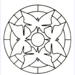 Simple Mandala Coloring Pages Beautiful Images Simple Mandala 35 M&alas Coloring Pages For Kids To