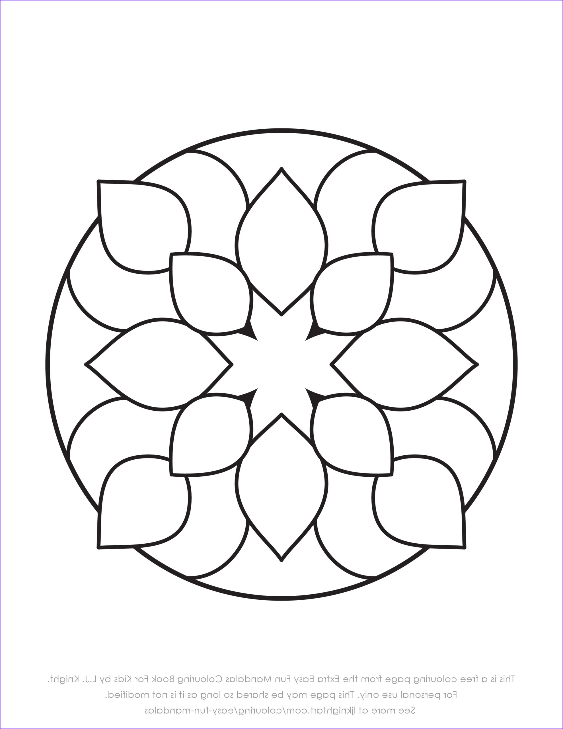 Simple Mandala Coloring Pages Best Of Photos Free Colouring Pages