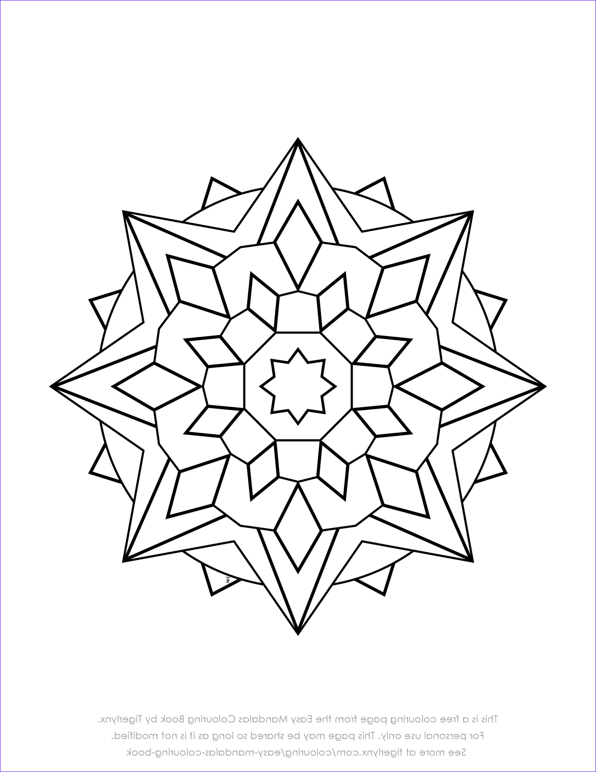 Simple Mandala Coloring Pages Elegant Gallery Colouring Books and Pages