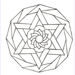 Simple Mandala Coloring Pages Inspirational Image Simple Mandala 88 M&alas Coloring Pages For Kids To