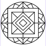 Simple Mandala Coloring Pages Luxury Images Simple Mandala Coloring Pages For Adults Free Printable