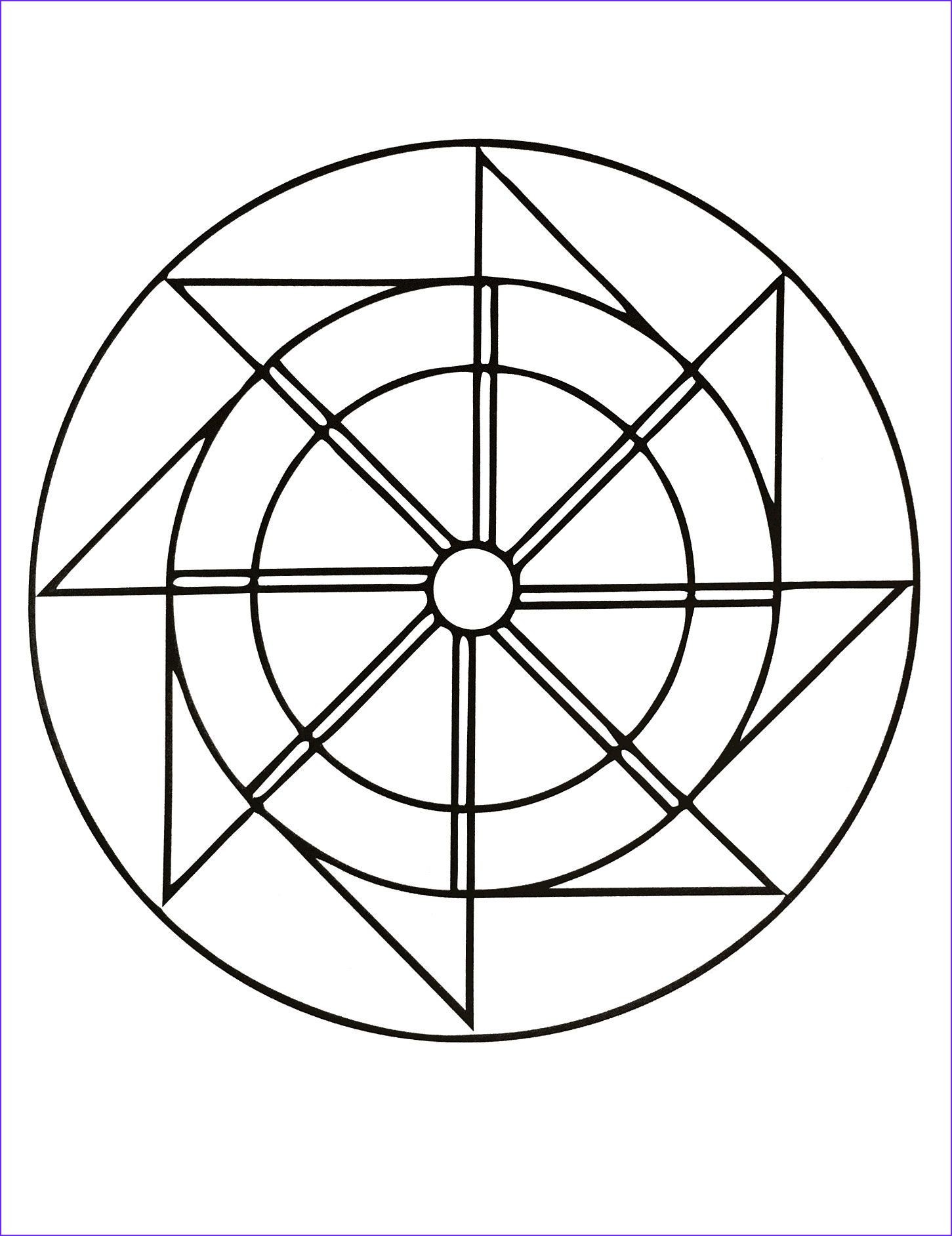 Simple Mandala Coloring Pages New Gallery Free Printable Mandalas for Kids Best Coloring Pages for
