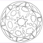 Simple Mandala Coloring Pages New Photos Free Printable Mandalas For Kids Best Coloring Pages For