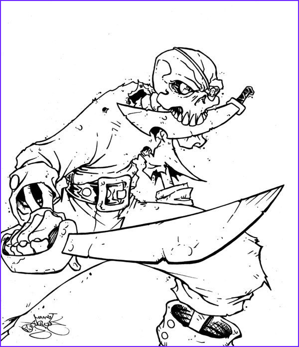 Skeleton Coloring Pages Elegant Stock Skeleton Pirate Coloring Pages Colouring In