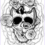 Skull Coloring Book Beautiful Photos 307 Best Images About Skull Day Of The Dead Coloring On