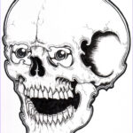 Skull Coloring Book Cool Collection Free Printable Skull Coloring Pages For Kids