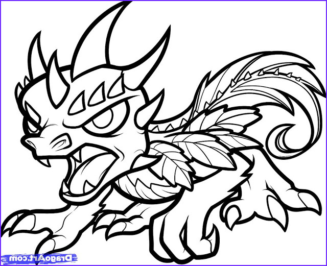 Skylander Coloring Cool Image Unique Ics Animation Good Skylanders Coloring Pages