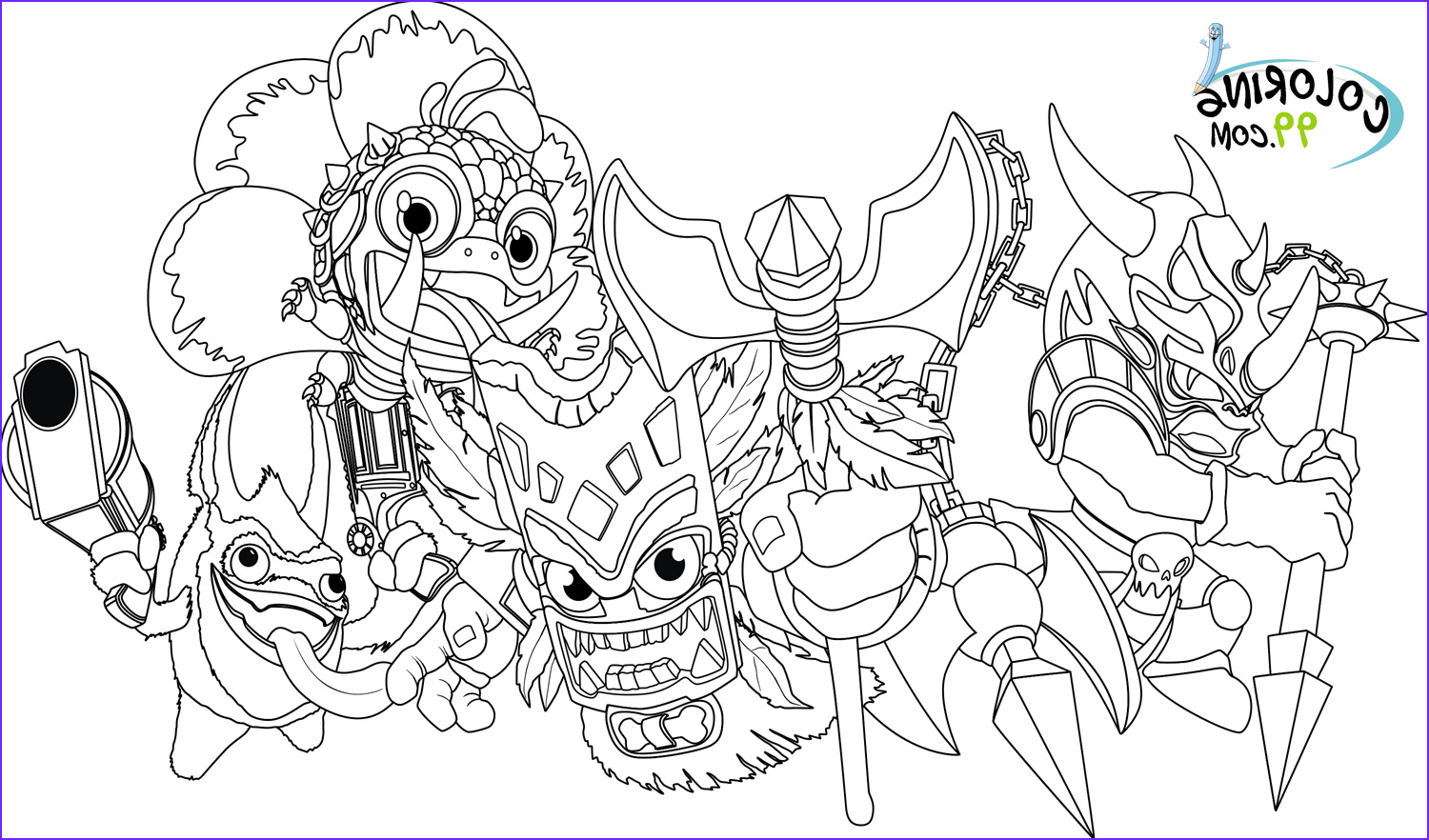 Skylander Coloring Inspirational Photos Skylanders Magic Element Coloring Pages