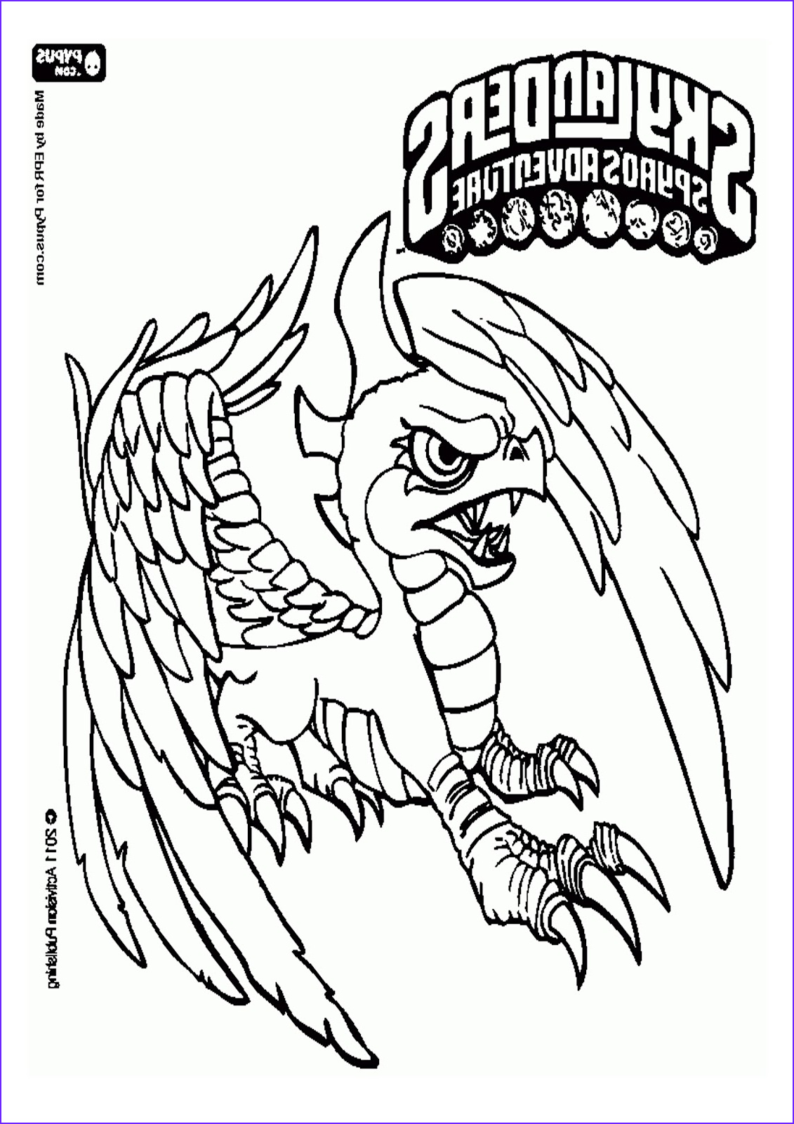 Skylander Coloring Pages to Print Cool Image Gut Coloring Pages