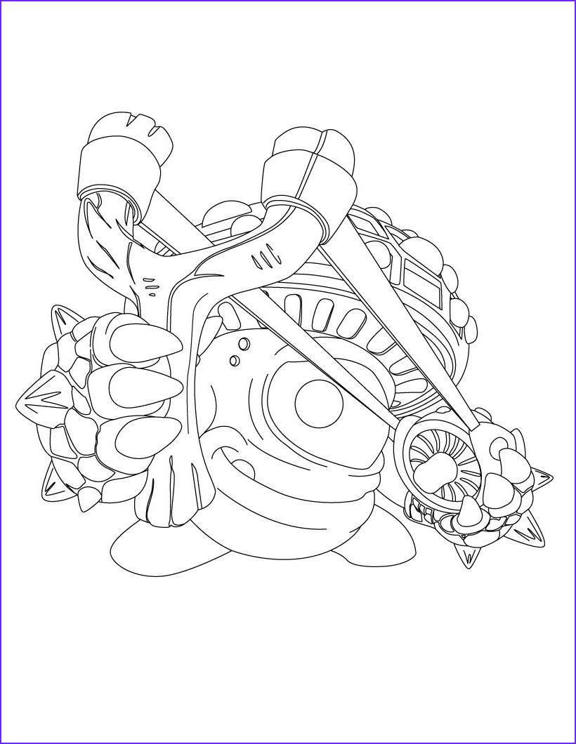 Skylander Coloring Pages to Print New Image Free Printable Skylander Giants Coloring Pages for Kids