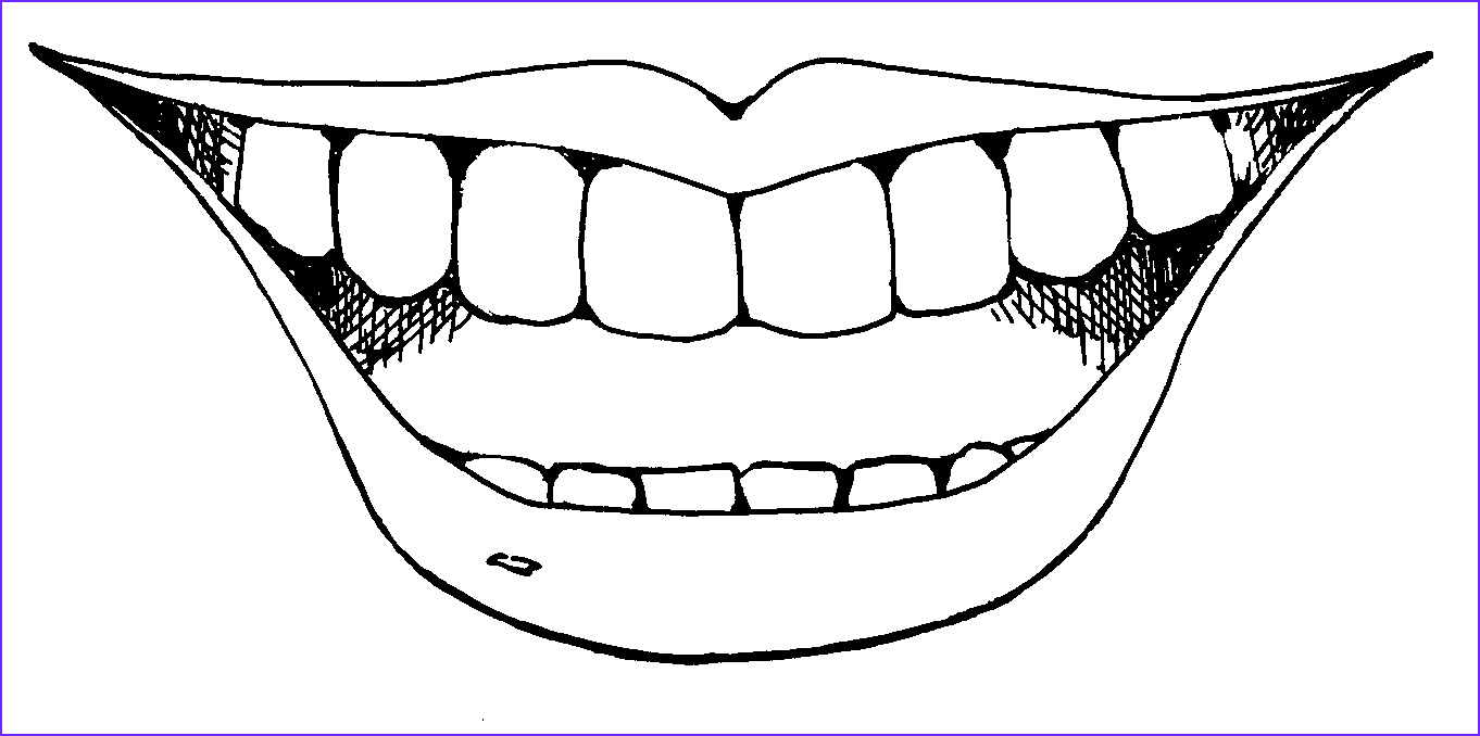 smiling coloring pages 2