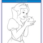 Snow White Coloring Awesome Collection Snow White And The Seven Dwarfs Printable Coloring Pages