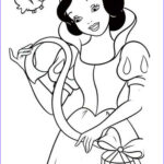 Snow White Coloring Beautiful Gallery Snow White Coloring Pages Download And Print Snow White
