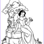 Snow White Coloring Beautiful Photos Snow White Coloring Pages Free For Kids