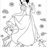 Snow White Coloring Inspirational Collection Snow White Color Pages To Print