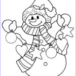Snowmen Coloring Pages Awesome Collection Best 25 Snowman Coloring Pages Ideas On Pinterest